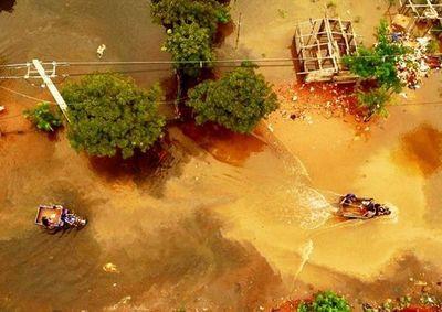 """""""Serán días difíciles"""" por la crecida de los ríos"""