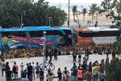Incidentes en Río de Janeiro