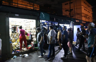 Sorpresivo allanamiento en el Mercado 4
