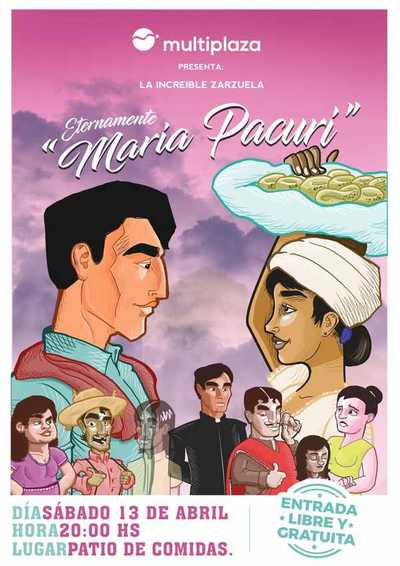 """""""Eternamente María Pacurí"""" vuelve a escena"""