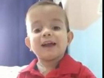Brunito invitó a vacunarse, a través de un emotivo video