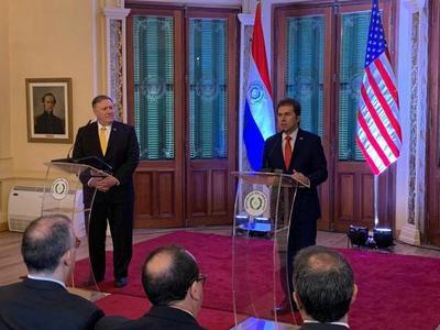Secretario de Estado norteamericano valoró democracia y ratificó voluntad de cooperación