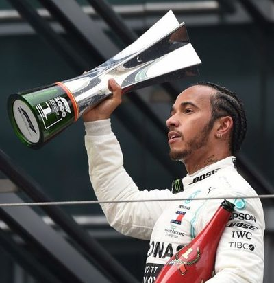 Hamilton gana el GP de China