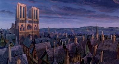 HOY / El Jorobado, Ratatouille, La   Bella y la Bestia, algunas de las  joyas del cine ligadas a Notre Dame