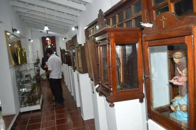 Exposición recuerda influencia indígena en la Semana Santa