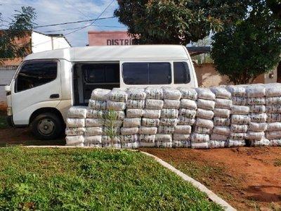 Incautan media tonelada de azúcar brasileña en Curuguaty