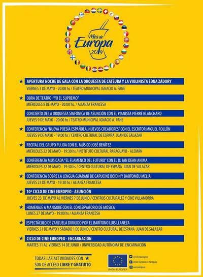 Atractivos culturales para celebrar el Mes de Europa