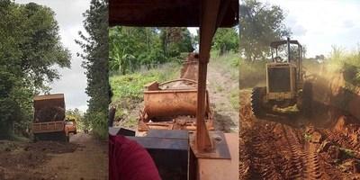 IMPORTANTES LABORES DEL MOPC PARA MANTENER LOS CAMINOS TRANSITABLES