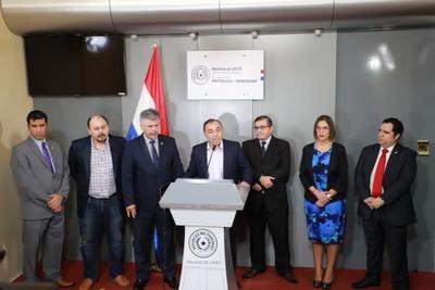 Ejecutivo ratifica tolerancia cero y pone a disposición de la Justicia a sindicados de corrupción