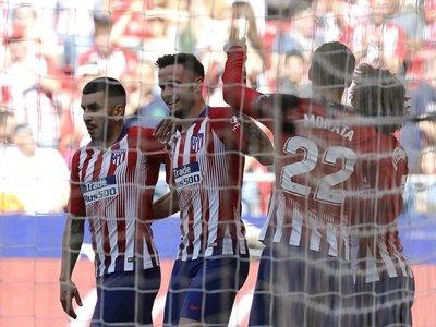 El Atlético gana por inercia