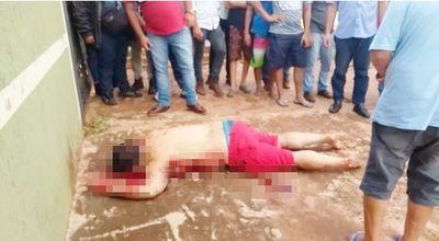 Sicarios ejecutan a hombre con 8 tiros en zona de frontera