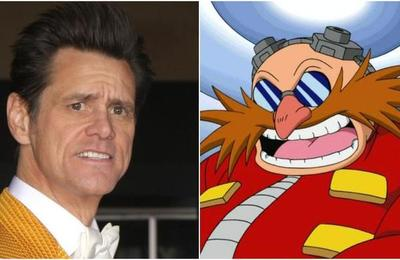 Filtran el look de Jim Carrey como Doctor Eggman en la película de 'Sonic'
