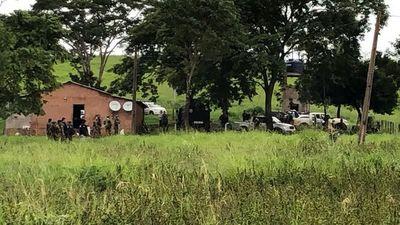Enfrentamiento entre policías y delincuentes en Amambay