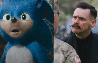 Trailer de 'Sonic' muestra el aspecto definitivo de Jim Carrey como Doctor Eggman