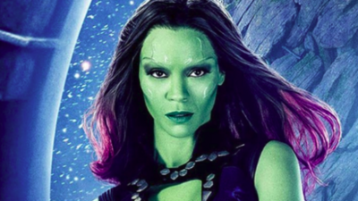 Gamora de Avengers toma Mate