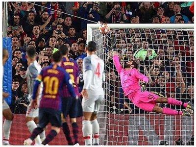 Lionel Messi maravilló hasta con los memes