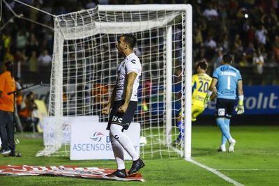 El gol paraguayo para los Dorados de Maradona