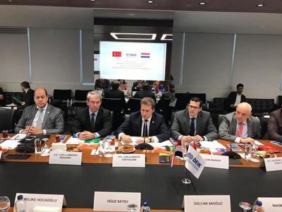 Canciller y comitiva empresarial presentaron en Turquía oportunidades de inversión