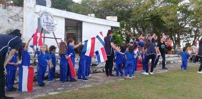Niños realizaron un campamento histórico en Acosta Ñu