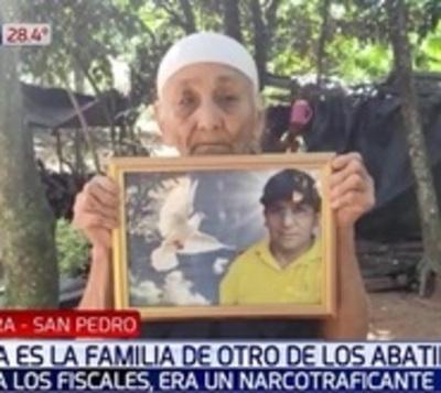 Madre de abatido en Piray no sabe donde está el cuerpo de su hijo