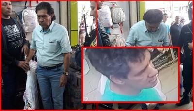 Colombiano capturado tras un intento de hurto