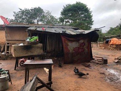 Desborde de arroyos en Caacupé afecta a varias familias
