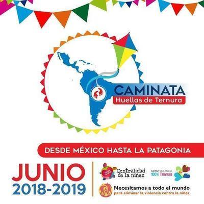 """""""Caminata Huellas de Ternura"""" (Jaguatá Kunuú Rapere) en San Lorenzo"""