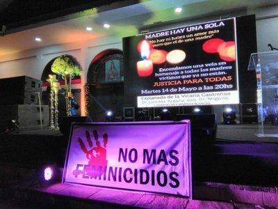 """""""Madre hay una sola"""", homenaje a víctimas de feminicidio"""