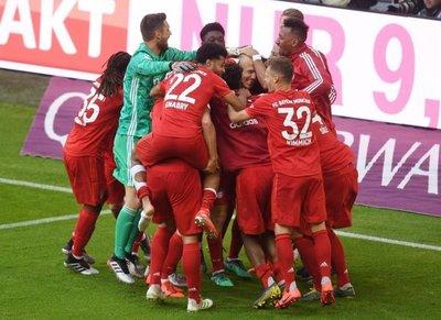 El Bayern, otra vez campeón