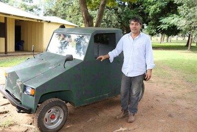 Herrero vale construyó para su propio vehículo