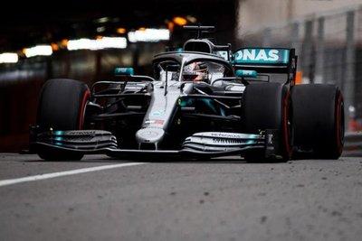 Hamilton fue el más rápido en Mónaco
