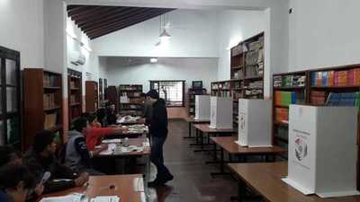 Funcionarios técnicos acompañaron elecciones de estudiantes en carácter de observadores