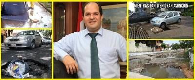 Asuncenos insatisfechos con la administración municipal de Arnaldo Samaniego.