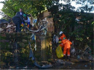 #BasuraChallenge: Recolectan 30.000 kilos de residuos en arroyo