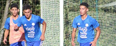 Las Selección Sub 15 se alista para medir en un amistoso a Uruguay