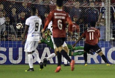 El gol de Domínguez
