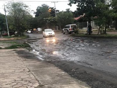 Aguas servidas, a la calle