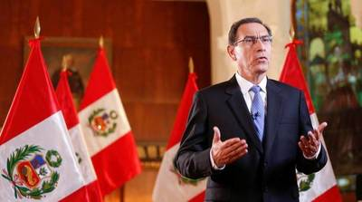 Perú afronta una nueva crisis política que puede llevar al cierre del Congreso