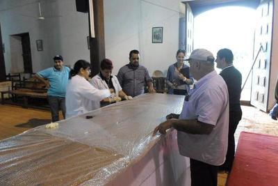 Técnicos de la SNC brindaron asistencia a la Iglesia de San Joaquín