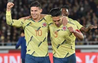 Acá están los 23 de Colombia