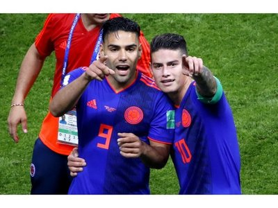 Falcao y James vuelven a ser los puntales de Colombia para la Copa América