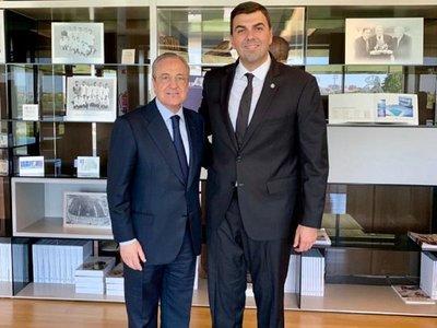Encuentro entre Marco Trovato y Florentino Pérez