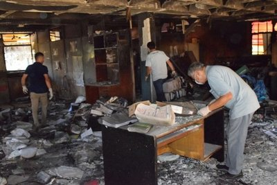 Preliminar para caso incendio sede municipal de Encarnación