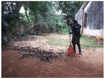 Patrulleros y Linces limpiaron la casa de una abuelita