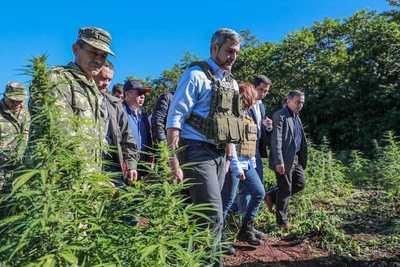 Marito sigue firme en su lucha contra el narcotráfico