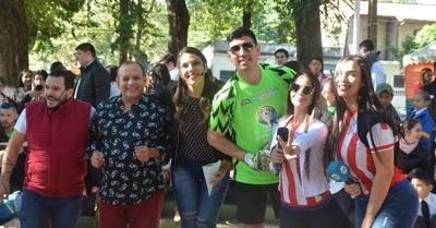 HOY / El programa de Tv 'Mucho Gusto' se sumó a la celebración del aniversario de Lambaré