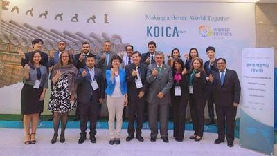 """Alta Gerencia de la SFP participa del """"Programa para el Desarrollo de Recursos Humanos en el Sector Público"""" de KOICA"""