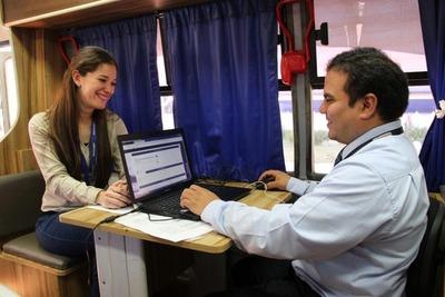 PAC Móvil prestará sus servicios esta semana en Caaguazú