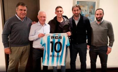 HOY / Matías, la nueva joya de Racing de Avellaneda