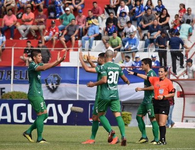 """El """"3"""" golea y pasa a la segunda fase de la Copa Paraguay"""